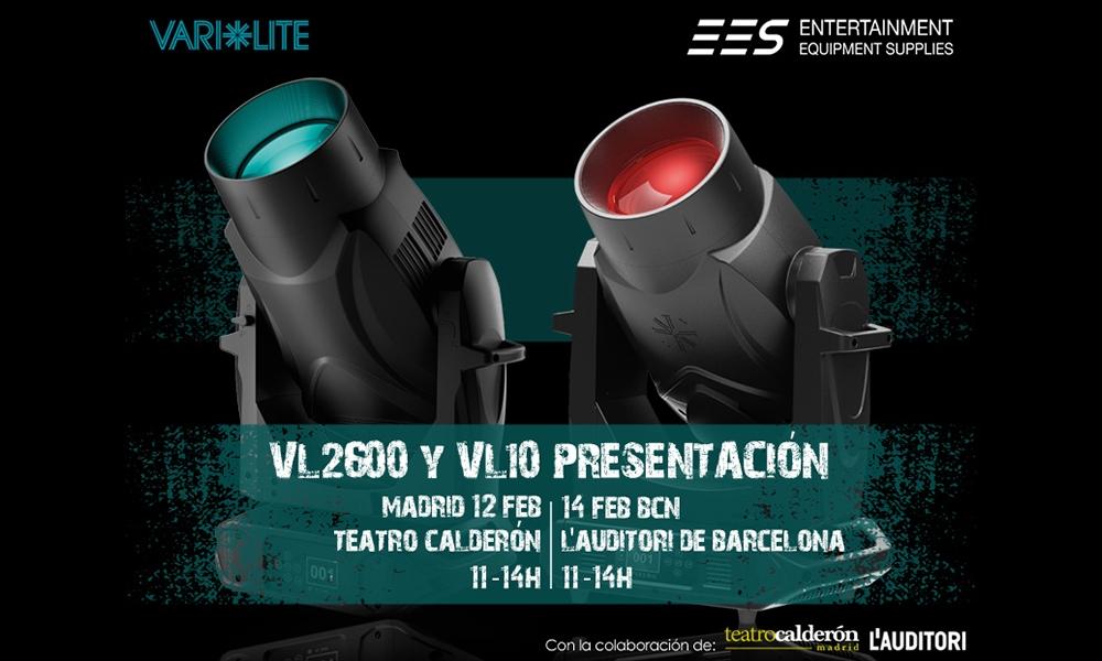 Presentación nuevas gamas Vari-Lite