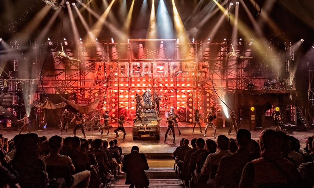 Robe, Vari-Lite y Robert Juliat en 'Apocalipsis', cuarta entrega del Circo de los Horrores