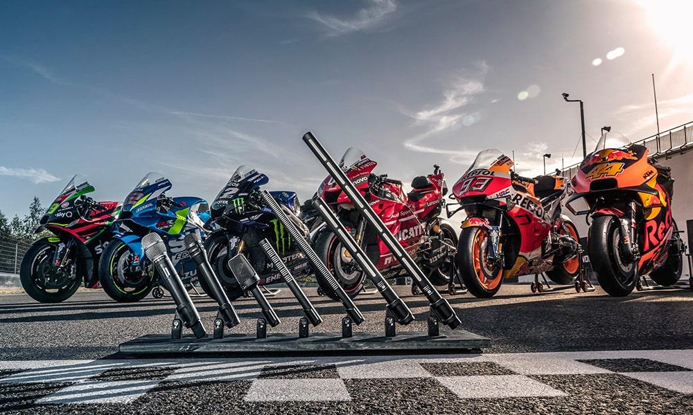 Audio-Technica ha sido nombrada Empresa Proveedora de Soluciones de Microfonía para Moto GP