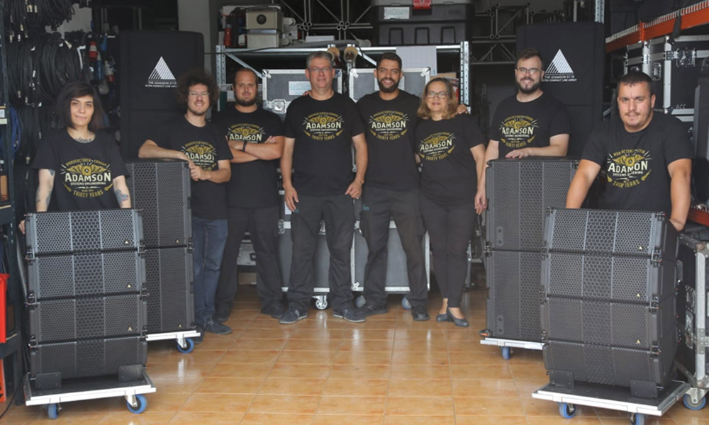 AcustiCanarias Servicios Audiovisuales apuesta por Adamson Systems