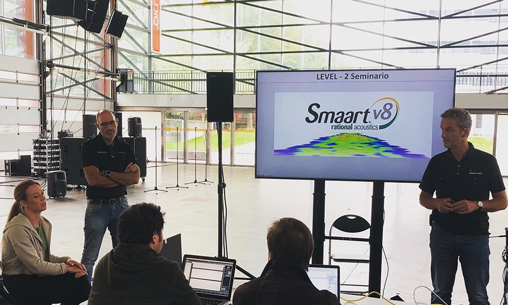Curso Smart V8 level 2 de Tw Audio organizado por Soinua Pro