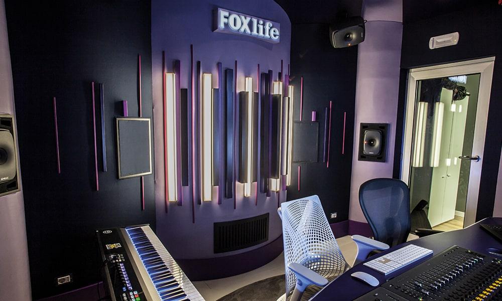 Fox Networks Group Italia selecciona monitores Genelec