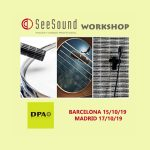 Recordatorio del Workshop de DPA ofrecido por SeeSound