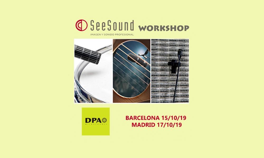 Recordatorio del Workshop de DPA ofrecido por SeeSound