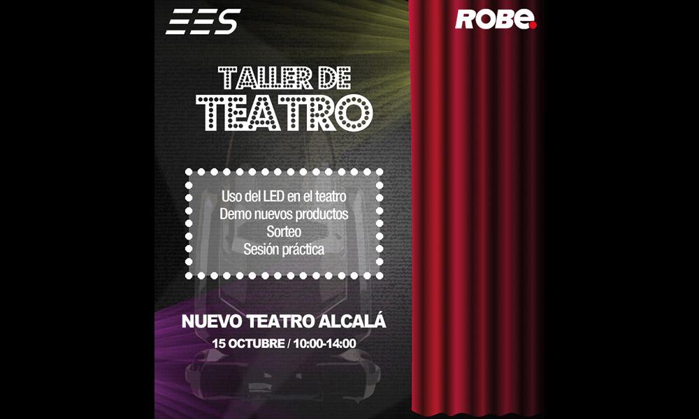 Vuelve el Taller de Teatro de Robe organizado por EES