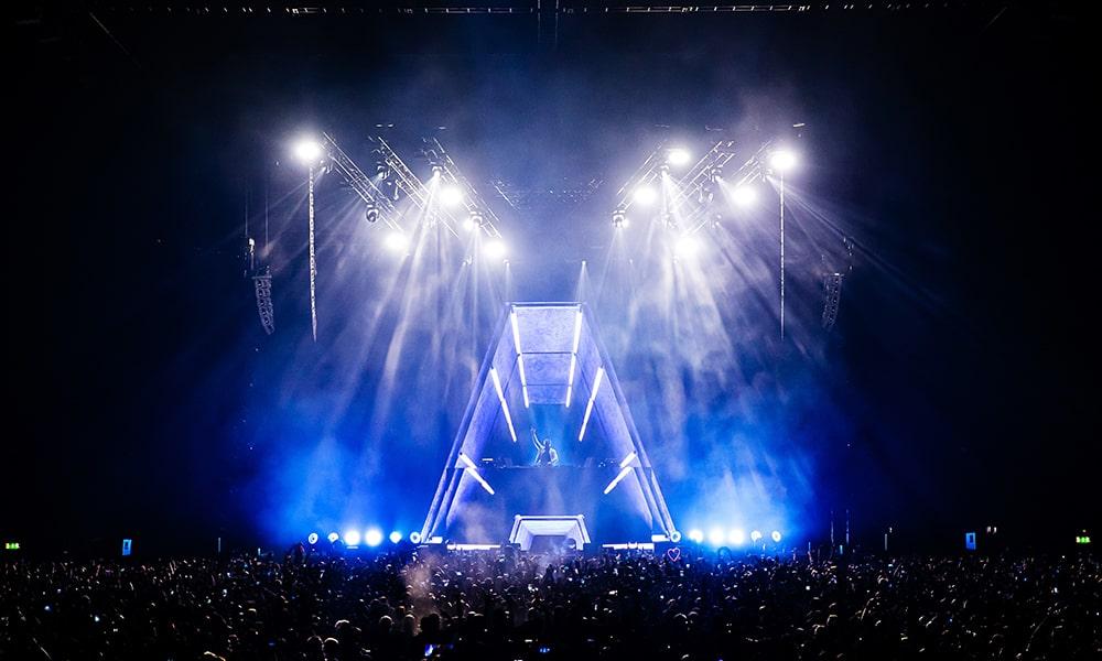 Armin Van Buuren, con MLA de Martin Audio en Wembley