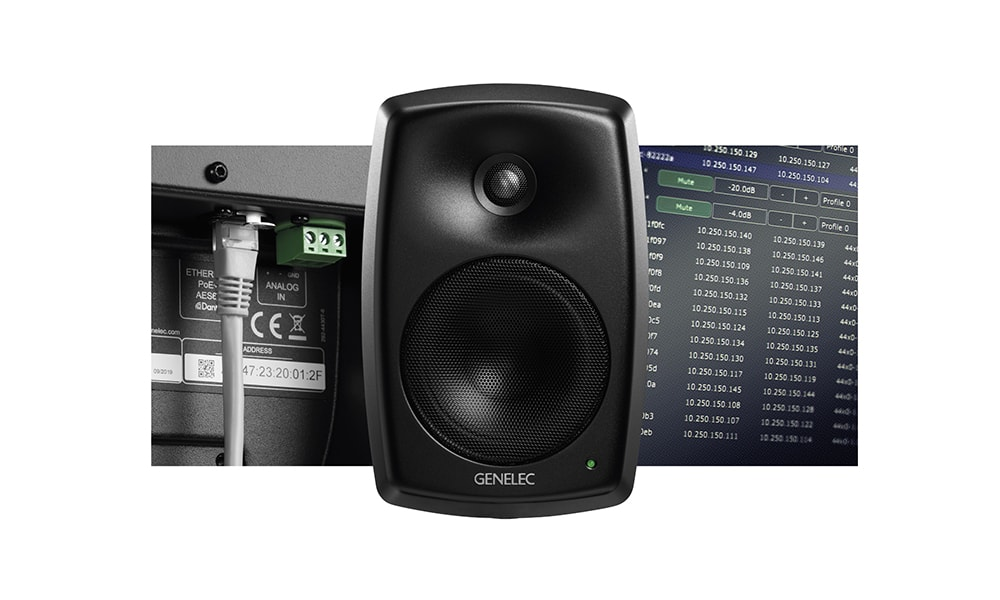 Genelec lanza el monitor activo de dos vías para instalación 4430