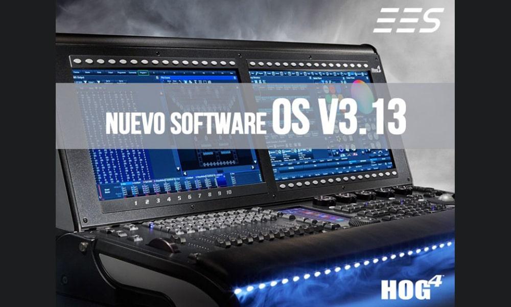 Nueva versión de software Hog 4 v3.13 ya disponible