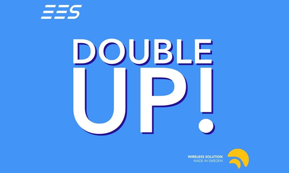 Nuevo modo Double-Up de Wireless DMX ya disponible con el firmware 3.0