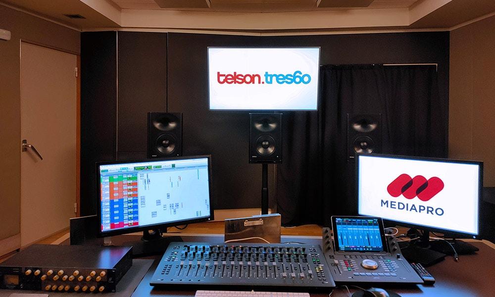 Genelec monitoriza las salas Atmos Home en Telson.Tres60