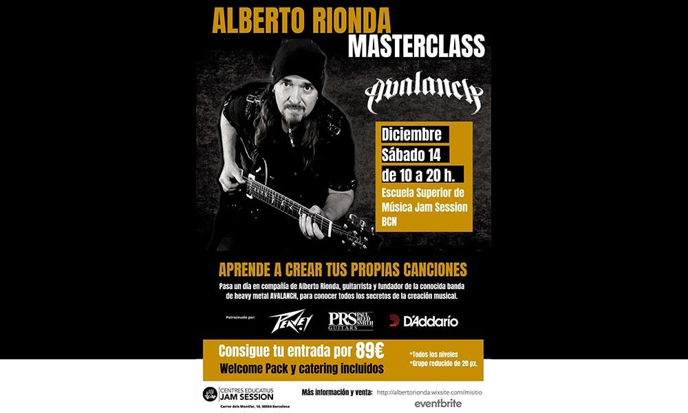 Masterclass exclusiva de Alberto Rionda en Barcelona
