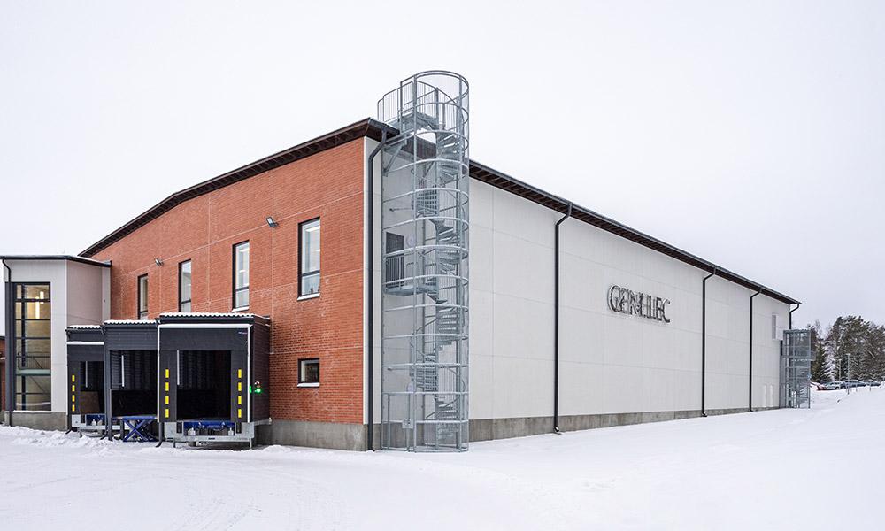 Genelec continua su crecimiento sostenible con una innovadora ampliación de la fábrica