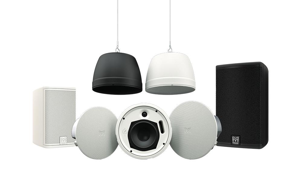 Martin Audio presenta nuevos altavoces de instalación que amplían la serie ADORN
