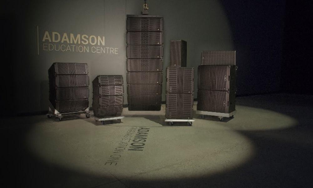 Presentación de la nueva línea de altavoces de fuente puntual de Adamson