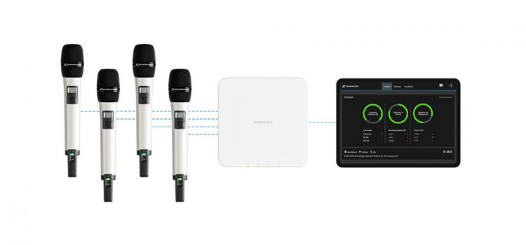 SpeechLine Digital Wireless de Sennheiser