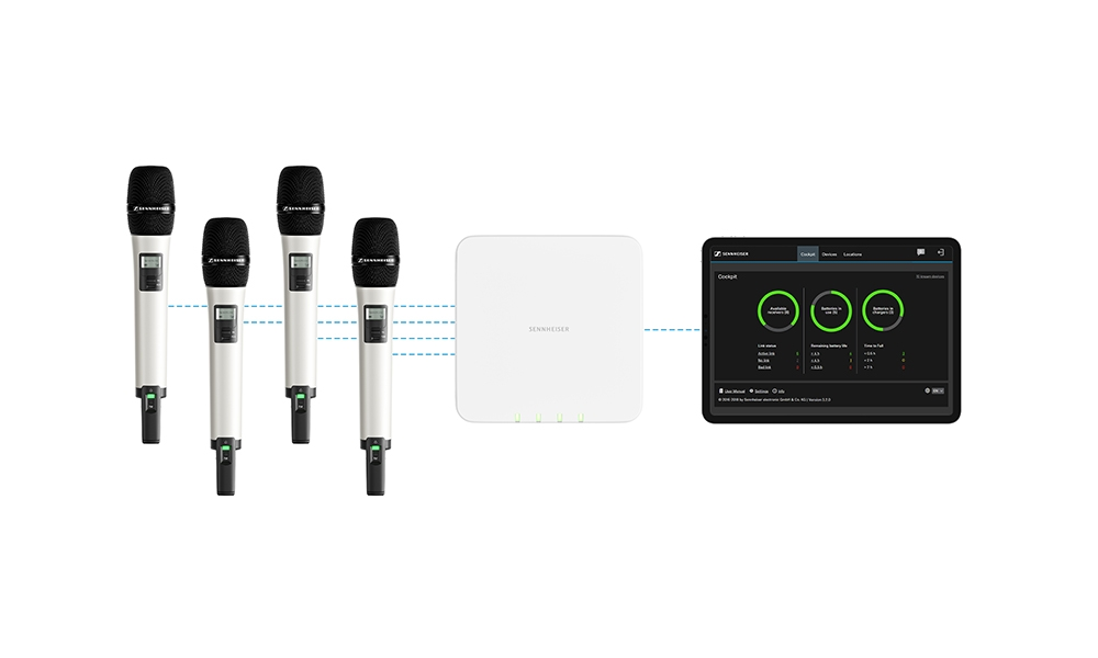 SpeechLine Digital Wireless de Sennheiser