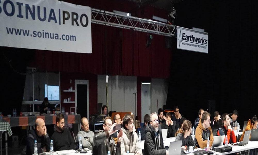 Curso Level 1 TW Audio organizado por Soinua Pro