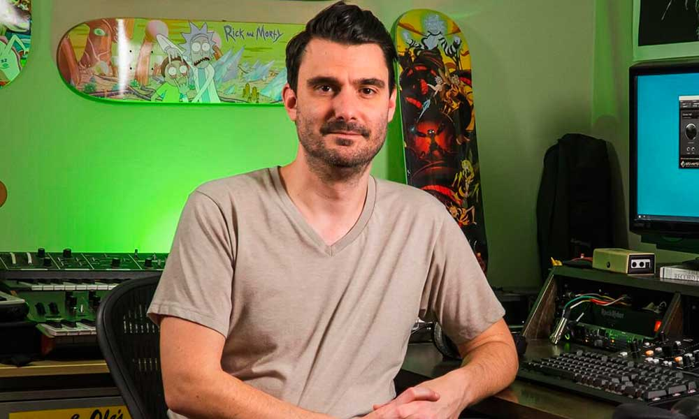 El compositor de la música de la serie de TV Rick & Morty utiliza el nuevo Nero de Audient