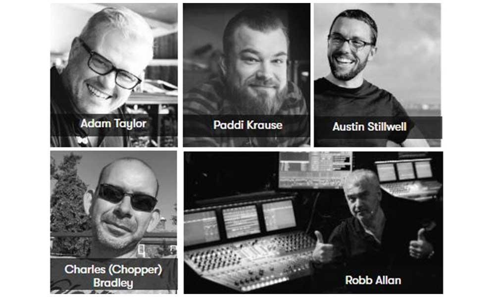 Descubre cómo mezclan 4 de los mejores técnicos de monitores del mundo