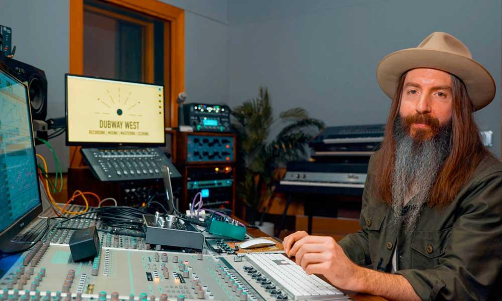 El ingeniero de sonido Damien Lewis apuesta por el Audient iD44
