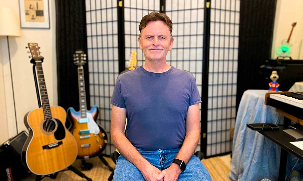 Kurt Hollabaugh utiliza Audient para clases de guitarra en remoto