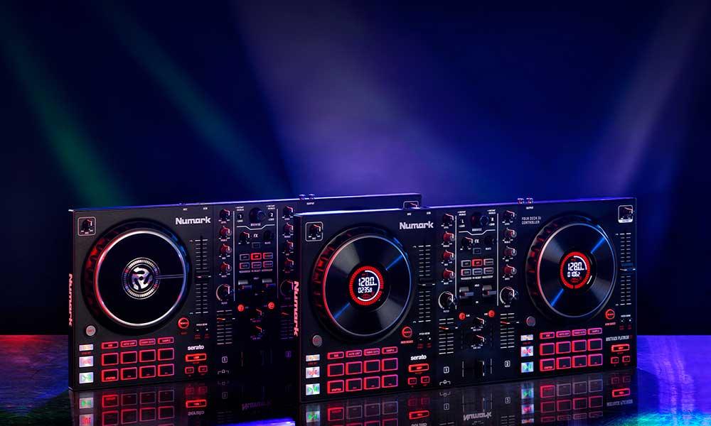 Los nuevos controladores DJ Mixtrack FX de Numark ofrecen un fácil acceso a efectos profesionales