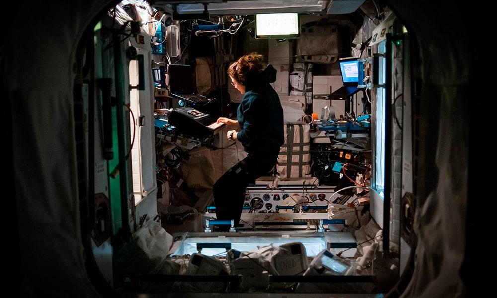 Una grabación con Audient inspira a la astronauta Christina Koch mientras está en el espacio