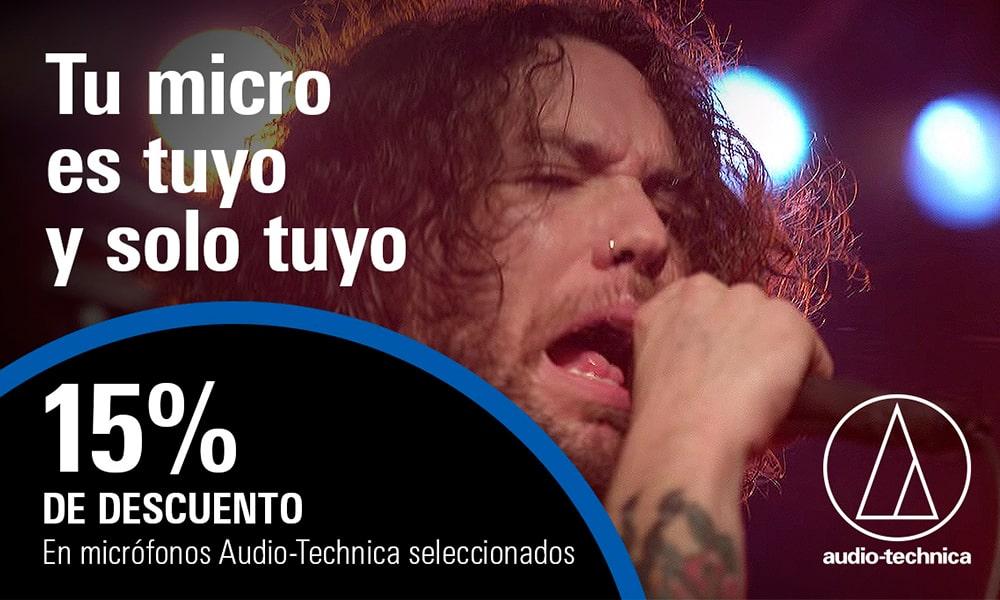 'Tu micro es tuyo y sólo tuyo', nueva campaña de Audio-Technica
