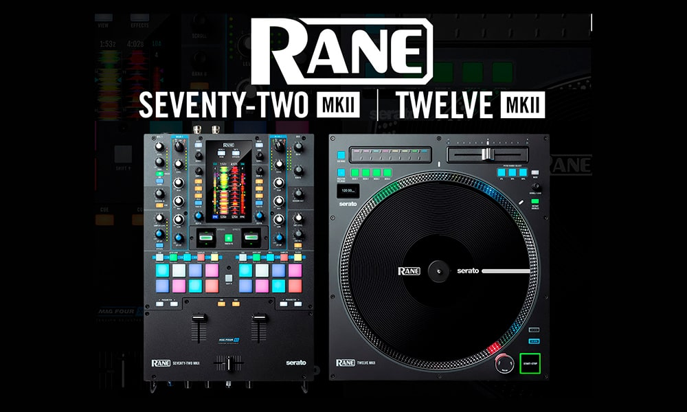 Novedades Rane DJ: Seventy Two MKII y Twelve MKII