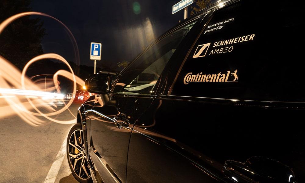 Sennheiser y Continental, audio para automóvil de última generación