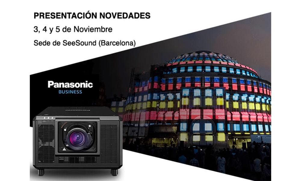 Apúntate a la presentación de Panasonic de SeeSound