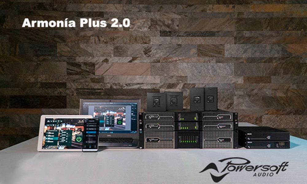 Armonia Plus 2.0 de Powersoft