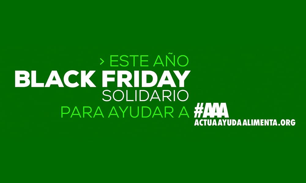 Black Friday y Cyber Monday solidarios de Microfusa