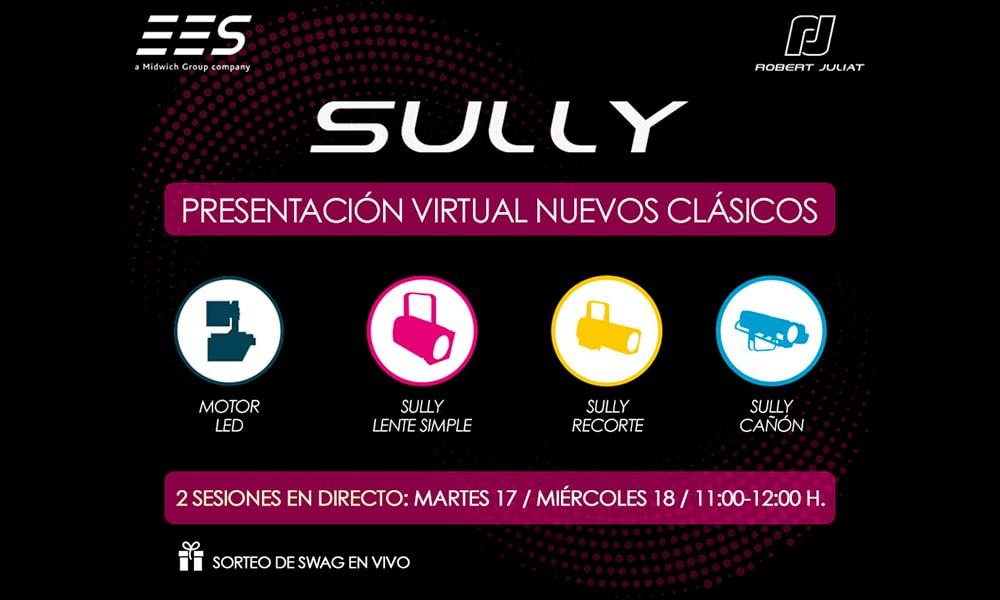 Los nuevos clásicos de Robert Juliat están aquí: presentación virtual de la nueva familia de equipos led SULLY, de la mano de EES