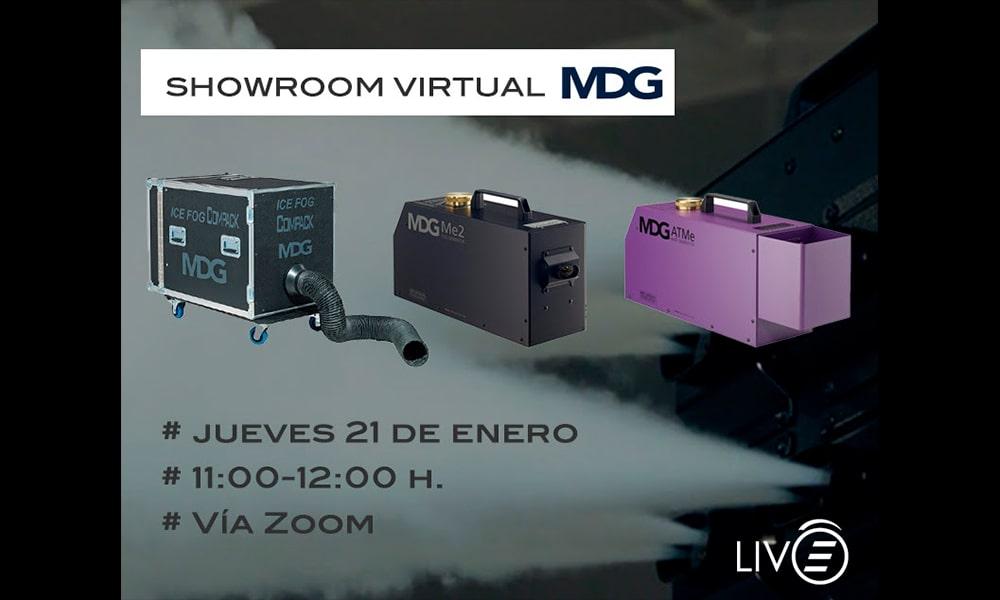 Primer showroom virtual de MDG este 21 de enero