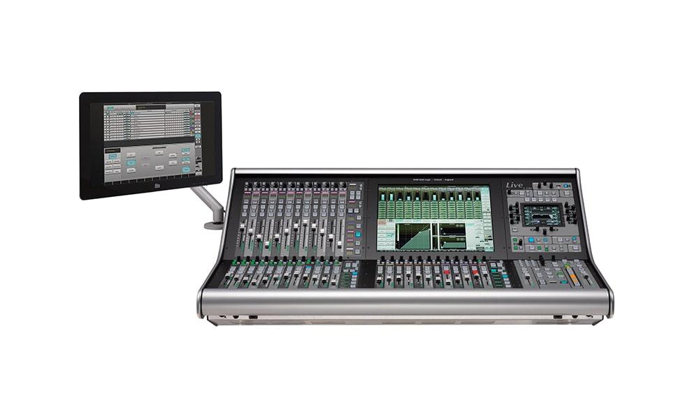 SSL Live integra el L-ISA control de L-Acoustics en sus consolas