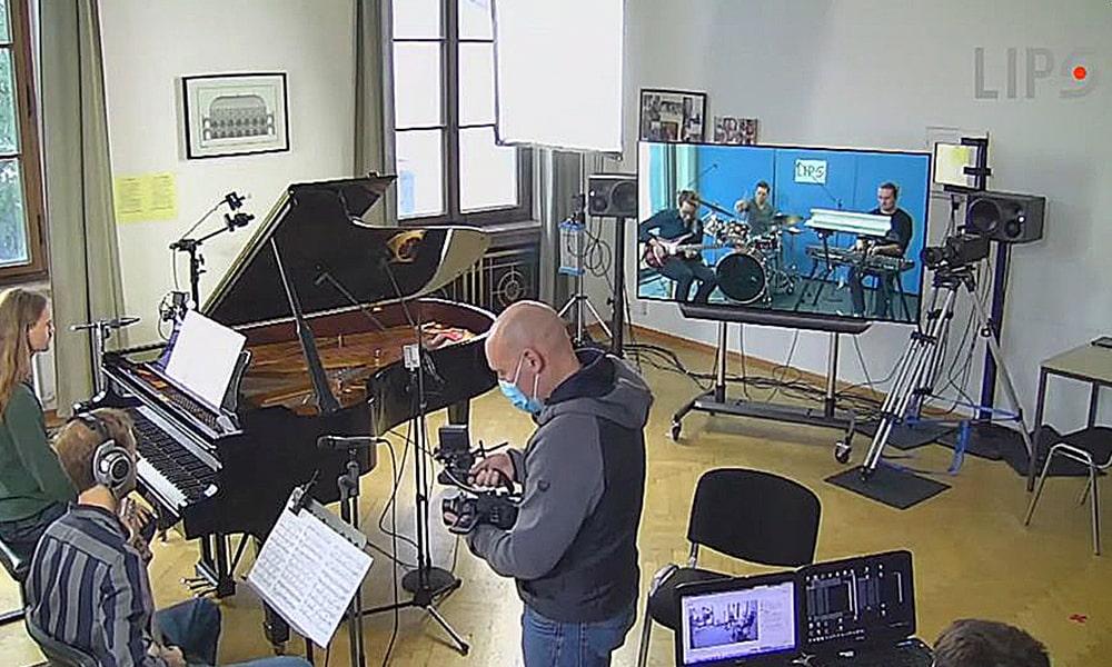 El consorcio de investigación LIPS presenta un evento de música en vivo en red en su taller