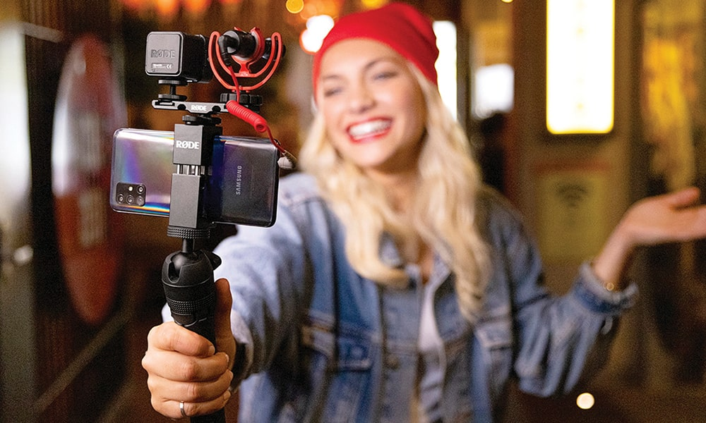 Vlogger Kit Universal de RØDE ya disponible en el stock de Zentralmedia