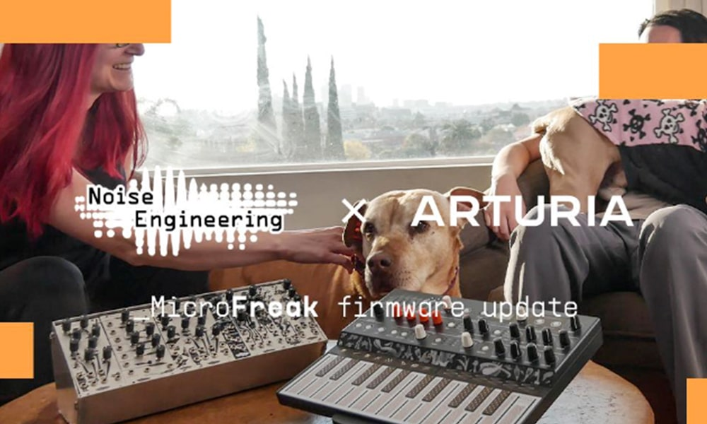 Arturia Microfreak: Firmware V.3 con Noise Engineering