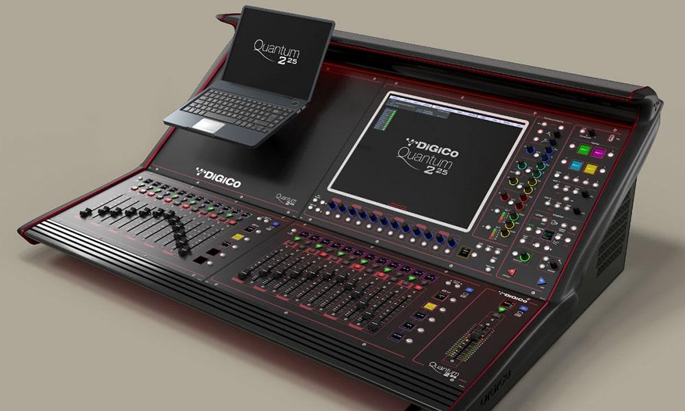 DiGiCo lanza su nueva consola Quantum225