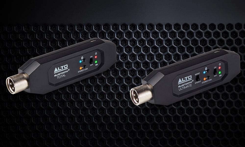 Alto Professional presenta dos nuevos receptores inalámbricos Bluetooth para sonido en directo