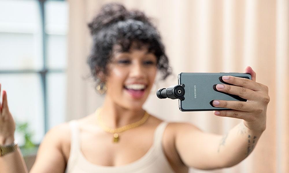 RØDE VideoMic Me-C, micrófono direccional para dispositivos móviles USB-C