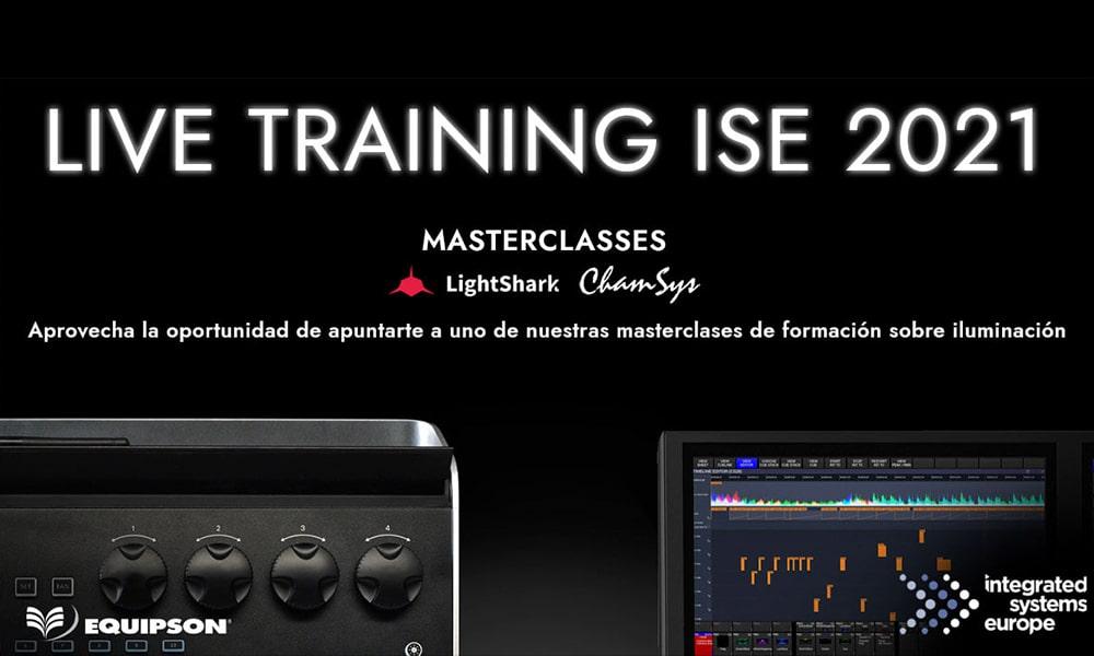 Live Training de Equipson en ISE Barcelona 2021
