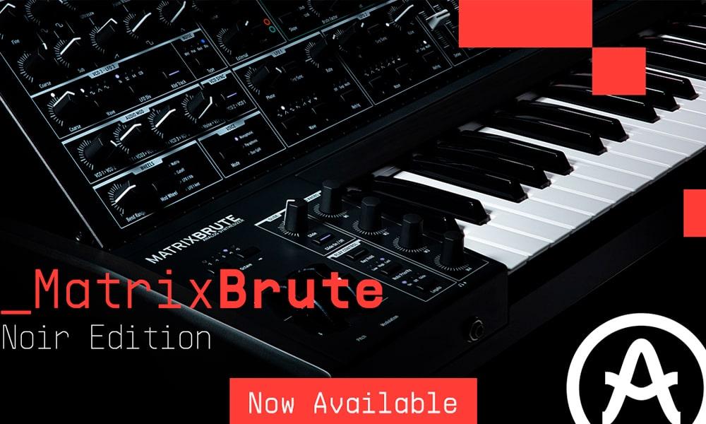 Arturia presenta MatrixBrute Noir