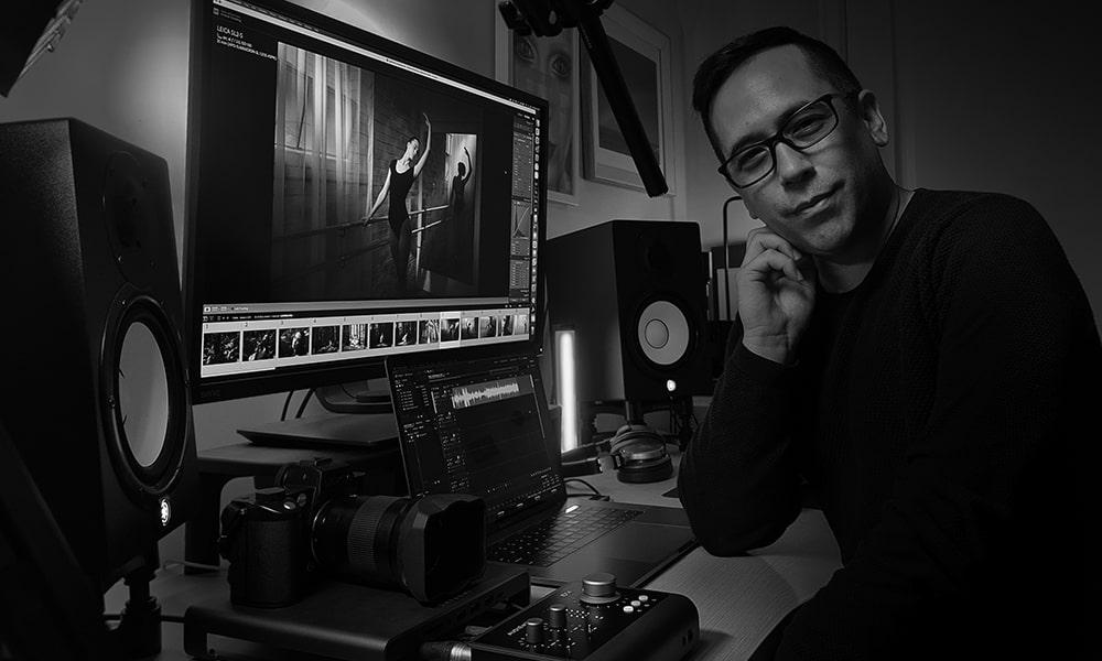 Un fotógrafo de prestigio mundial añade un iD14 (MKII) de Audient a su equipo