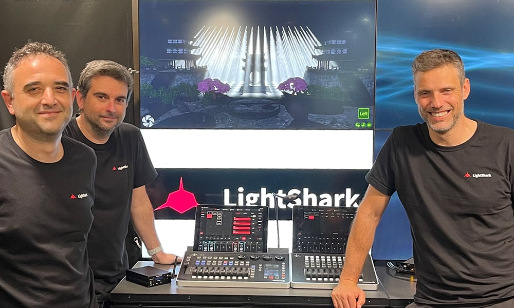 Equipson agita el mercado de la iluminación dando a los productos LightShark su propia identidad de marca