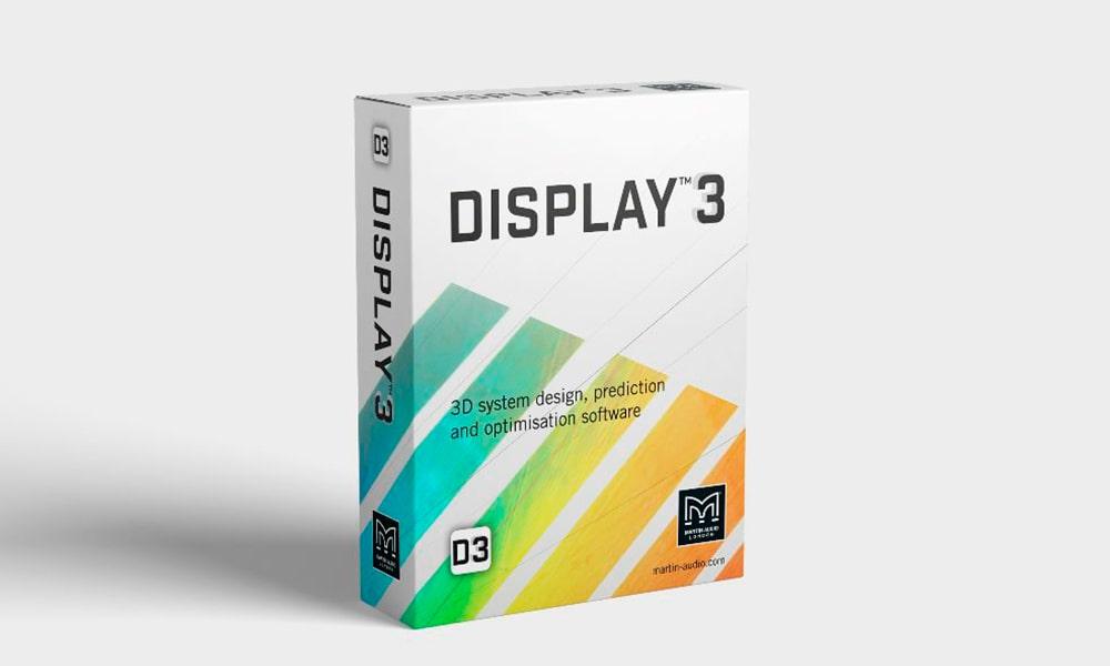 Ya está disponible la versión Beta 2.0 del software DISPLAY 3 de Martin Audio