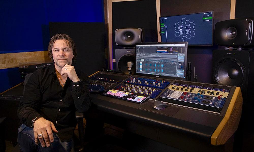Maxe Axelsson elige la combinación perfecta para masterización de Genelec