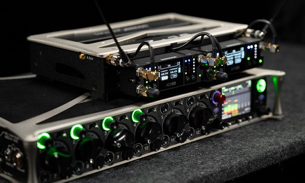 Shure incorpora a su sistema inalámbrico Axient® Digital, líder en el sector, el nuevo receptor portátil ADX5D