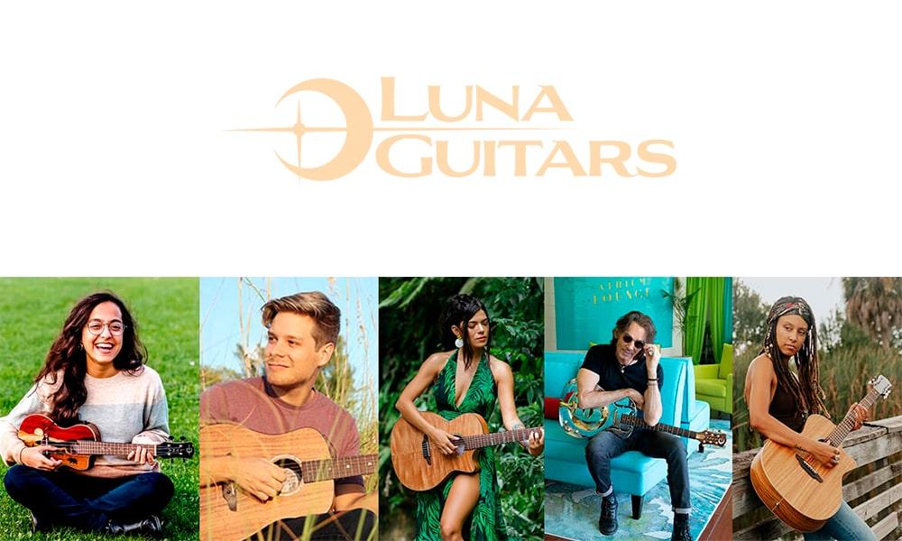 Zentralmedia distribuye Luna Guitars